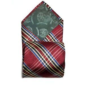 Tommy Hilfiger Accessories - Tommy Hilfiger Check Plaid All Silk Tie L<60 W<4
